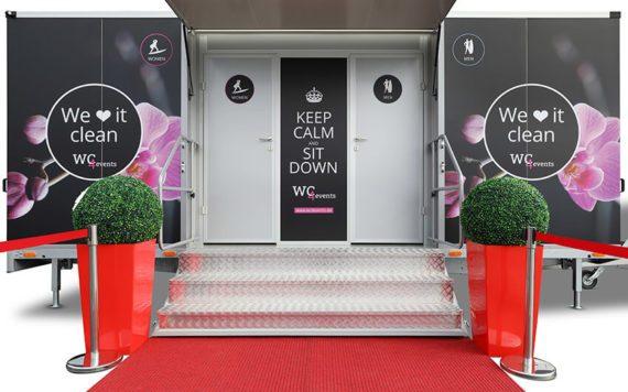 Voransicht - Toilettenwagen für Events -
